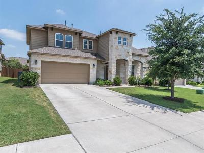 Round Rock Single Family Home For Sale: 608 Royal Burgess Dr