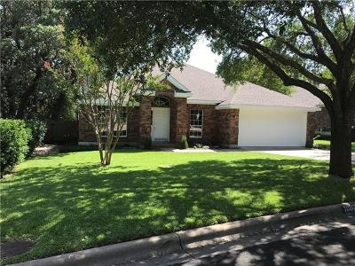 Travis County Single Family Home Pending - Taking Backups: 10805 Pinkney Ln