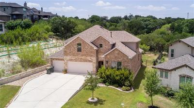 Spicewood Single Family Home Active Contingent: 22520 Rock Wren Rd