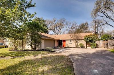Austin Single Family Home For Sale: 8608 Primrose Ln