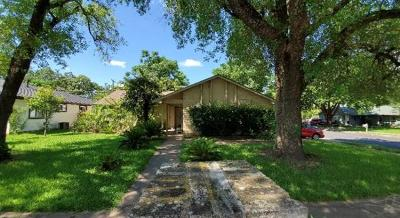 Austin Single Family Home For Sale: 10021 Childress Dr