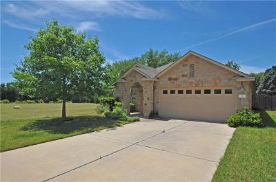 Cedar Park Single Family Home Pending - Taking Backups: 301 Riverine Way