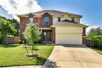 Leander Single Family Home Pending - Taking Backups: 1802 Cerro Ct