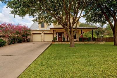 Marble Falls Single Family Home Active Contingent: 203 Villa Vista Way