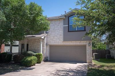 Travis County Single Family Home Pending - Taking Backups: 2210 Sweet Clover Dr