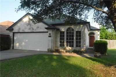 Round Rock Single Family Home For Sale: 1201 Wilderness Path