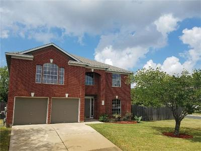 Round Rock Single Family Home Pending - Taking Backups: 16763 Marsala Springs Dr