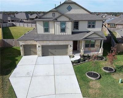 Hutto Single Family Home For Sale: 105 Elm Green Cv
