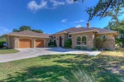 Burnet County Single Family Home For Sale: 502 Fox Xing