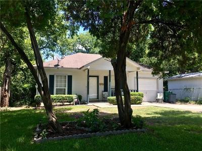 Taylor Single Family Home For Sale: 1112 Vance St