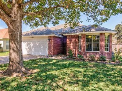 Round Rock Single Family Home For Sale: 2302 Sycamore Trl