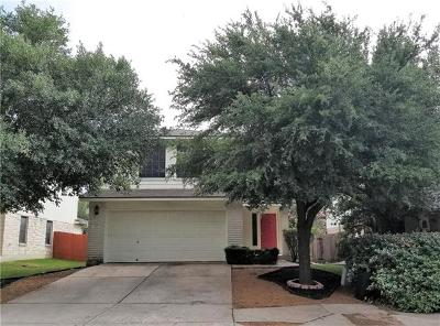 Pflugerville Single Family Home For Sale: 1412 Roxannes Run