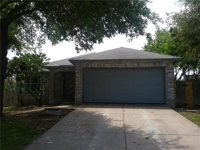 Pflugerville Single Family Home For Sale: 17801 Grener Cv