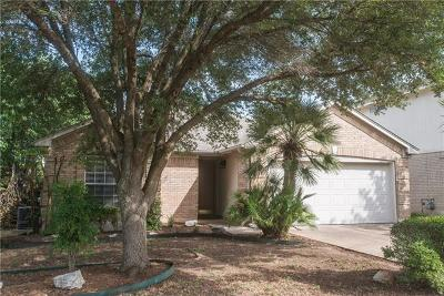 Round Rock Single Family Home For Sale: 5009 Cleves St