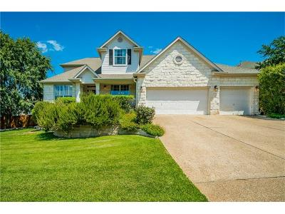 Hays County, Travis County, Williamson County Single Family Home For Sale: 8200 Cobblestone