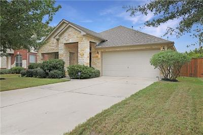 Round Rock Single Family Home Pending - Taking Backups: 2848 Angelina Dr