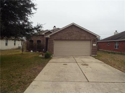 Hutto Single Family Home For Sale: 120 Aguilar Dr