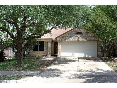 Pflugerville Single Family Home Pending - Taking Backups: 13921 Randalstone Dr