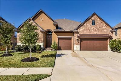 Round Rock Single Family Home For Sale: 4412 Caldwell Palm Cir