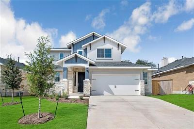 Leander Single Family Home For Sale: 2405 Low Branch Cv