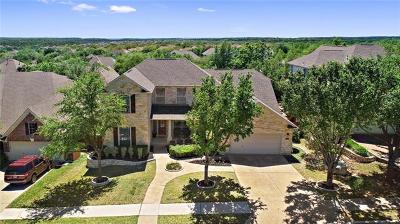 Cedar Park Single Family Home For Sale: 2603 Izoro Bnd