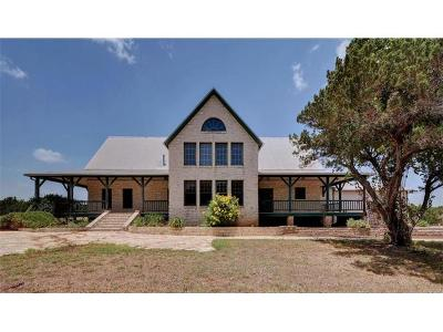 Leander Single Family Home Pending - Taking Backups: 4350 County Road 279