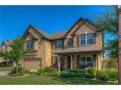 Leander Single Family Home For Sale: 2201 Lookout Knoll Dr