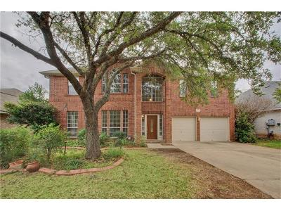 Round Rock Single Family Home For Sale: 8225 Broken Branch Dr