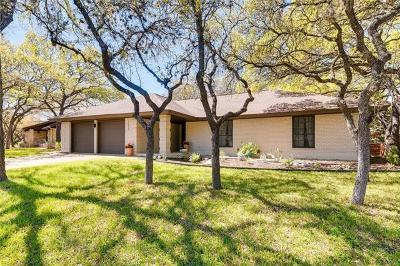 Austin Single Family Home For Sale: 4609 Trail Crest Cir