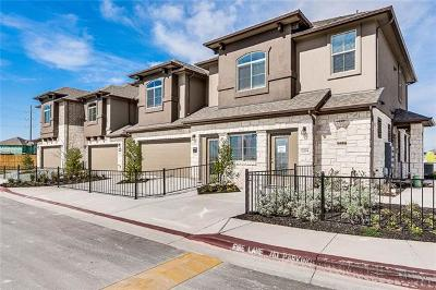 Round Rock Condo/Townhouse For Sale: 2880 Donnell Dr #2203