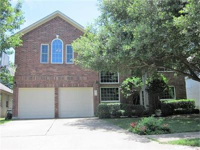 Cedar Park Single Family Home For Sale: 1008 Hunters Creek Dr