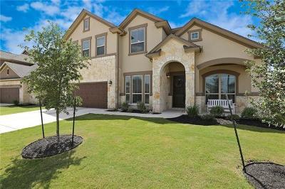 Round Rock Single Family Home For Sale: 3344 Vasquez Pl