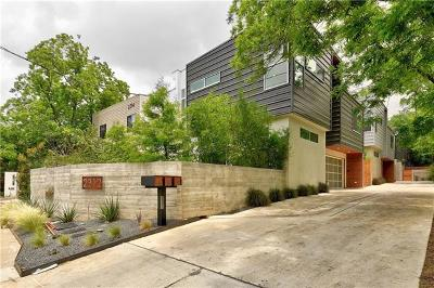 Austin Condo/Townhouse For Sale: 2312 Enfield Rd #3