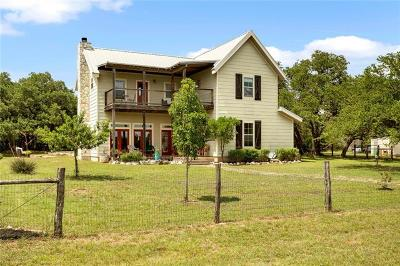 Wimberley Single Family Home Pending - Taking Backups: 121 Mission Trl