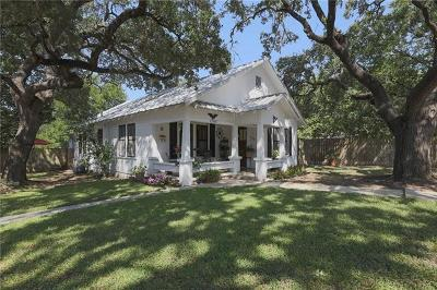 Burnet County Single Family Home For Sale: 1200 N Water St