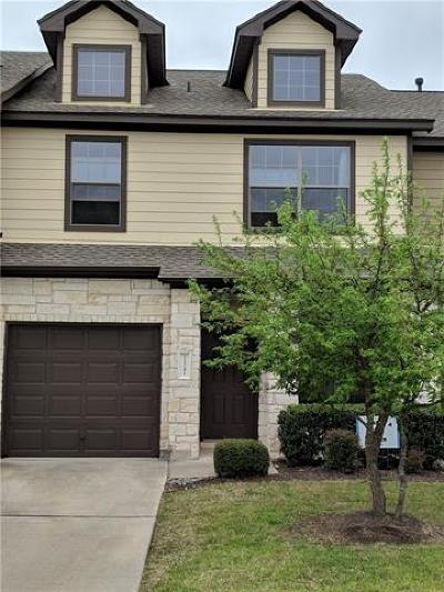 Condo/Townhouse For Sale: 11241 Lost Maples Trl