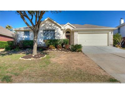 Round Rock Single Family Home Pending - Taking Backups: 3712 Hawk Ridge St