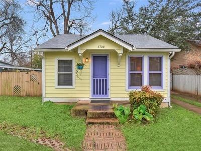 Austin Single Family Home For Sale: 1709 Haskell St