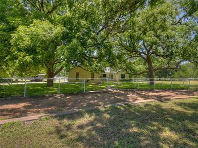 Marble Falls Single Family Home For Sale: 2001 Fm 1980