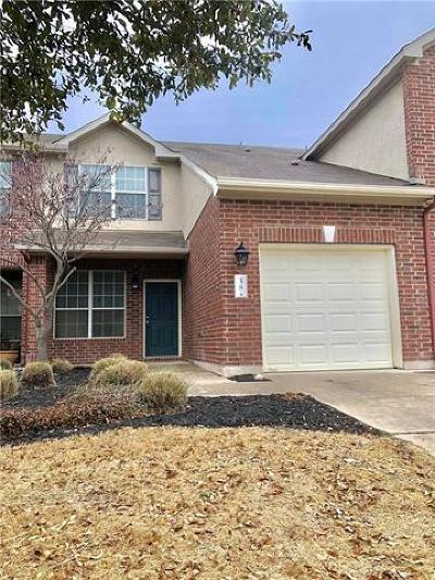 Leander Condo/Townhouse Pending - Taking Backups: 38 Verde Ranch Loop