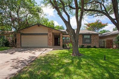 Austin Single Family Home For Sale: 12008 Wander Ln