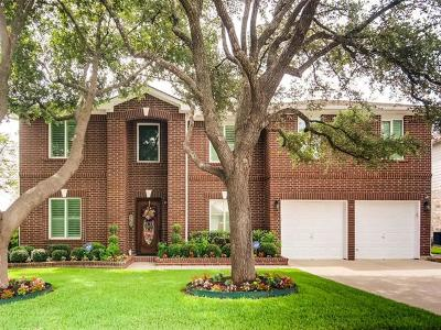 Round Rock Single Family Home Pending - Taking Backups: 16715 Marsala Springs Dr