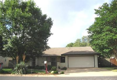 Round Rock Single Family Home For Sale: 3507 Monument Dr