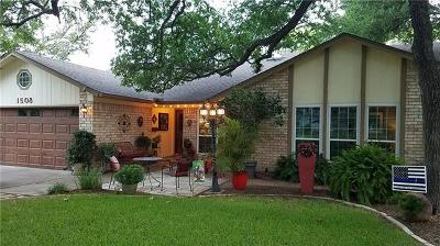 Round Rock Single Family Home For Sale: 1508 Ridge Rock Dr