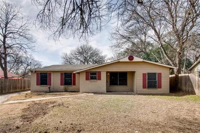Single Family Home For Sale: 4804 Blueberry Trl
