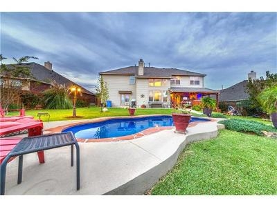 Pflugerville Single Family Home Pending - Taking Backups: 2817 Moving Water Ln