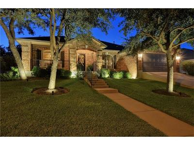 Leander Single Family Home Pending - Taking Backups: 1107 Wigwam