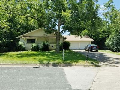 Austin Single Family Home Pending - Taking Backups: 1913 Edgeware Dr