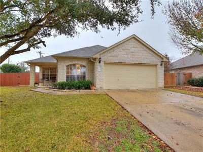 Round Rock Single Family Home For Sale: 4313 Rock Hill Rd