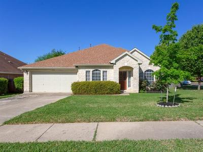 Cedar Park Single Family Home Pending - Taking Backups: 1243 Red Ranch Cir